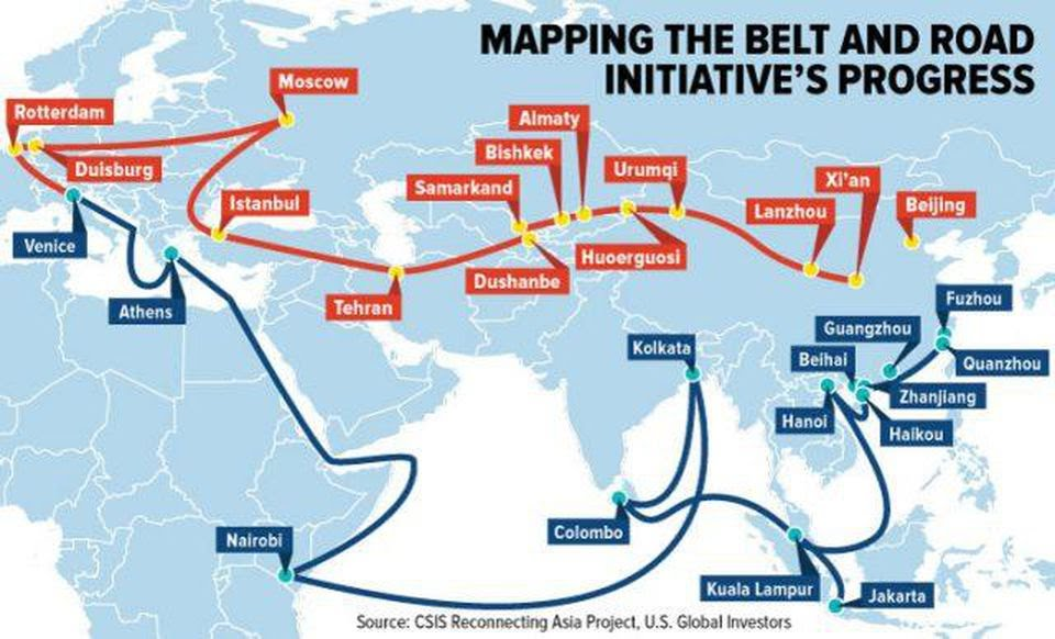 China's Belt and Road Initiative push intensifies